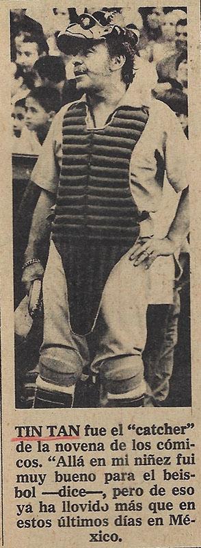 Tin Tan – beisbol 4