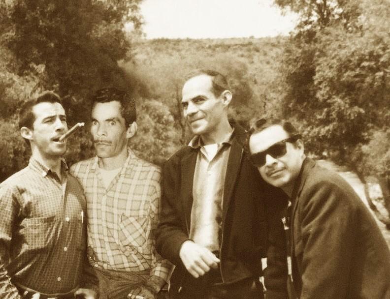 Toño, Ramón, Manuel y Germán – Sepia