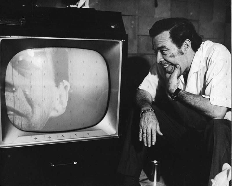 SOL-0013 Tin Tan con la TV grande