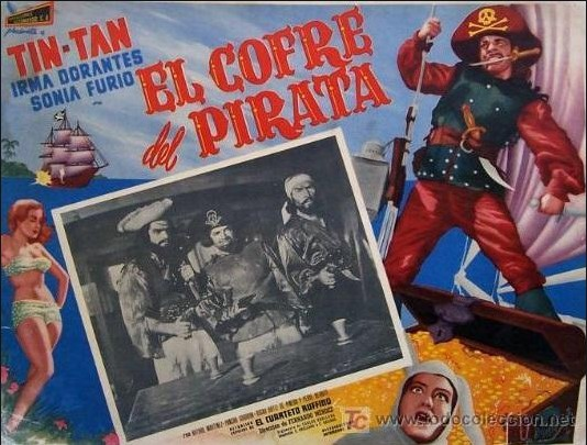 El Cofre del Pirata Poster