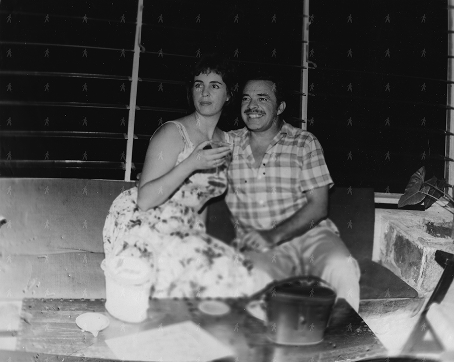 0089-SHO-W TinTan y Rosita Hotel Prado America 1957
