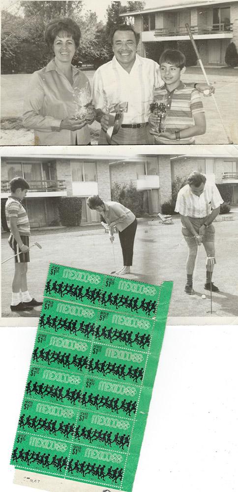 Tin Tan y su colección de timbres México 68
